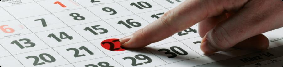 Der neue Standard der Datumsmarkierung!